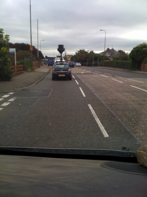 Google street view car in Edinburgh, Scotland Still no definate date from ...