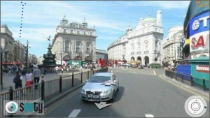 Live Piccadilly Circus street level view in London
