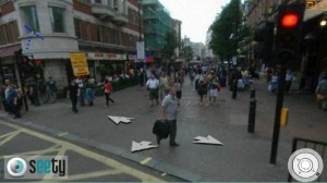 Live street map views on Leicester Square in London\'s West End area