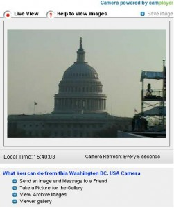Capitol Hill webcam Washington DC