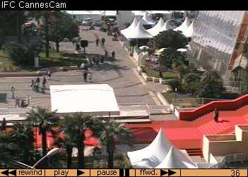 Red carpet webcam at the Cannes Film Festival
