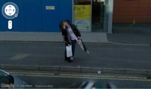 Give us a kiss for Google street view