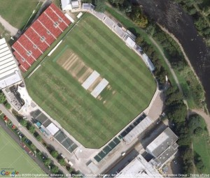 Glamorgan cricket club SWALEC cricket stadium in Cardiff, Wales