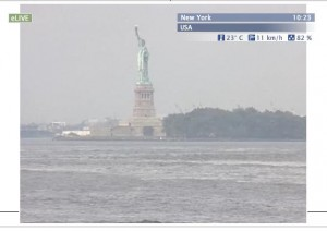 Live streaming New York webcam