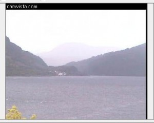 Live streaming Scottish Highlands webcam from Onich hotel