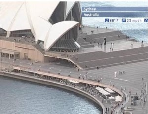 Sydney Harbour webcam