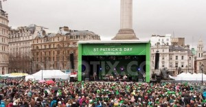 Trafalgar Square St Patricks Day Celebrations - London